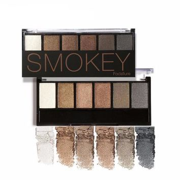 6 Earth Colors Shimmer Matte Eyeshadow Palette