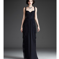 VM889 Mignon 2013 Fall Dresses - Midnight Lace Gown