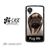 New Design Funny Hilarious Pug Life Parody Fans For Google Nexus 5 Case Phone Case Gift Present
