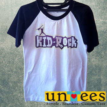 Kid Rock Short Raglan Sleeves T-shirt