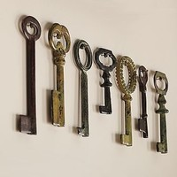 Vintage Keys, Set of 7