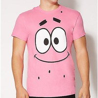 Patrick Face Spongebob T shirt - Spencer's