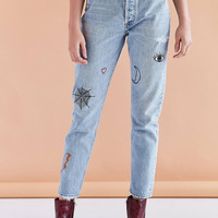 AGOLDE X UO Jamie High-Rise Jean - Rescued Crush | Urban Outfitters