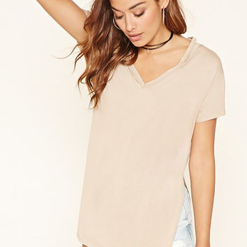 Cutout V-Neck Tunic | FOREVER 21 - 2000206241