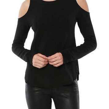 MARIE CRISSCROSS STRAPPY BACK SWEATSHIRT