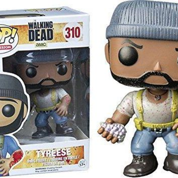 Exclusive FUNKO POP Official TV: The Walking Dead - Tyreese Vinyl Action Figure Collectible Model Toy with Original Box
