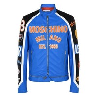 Moschino Men Leather Outerwear | Moschino.com