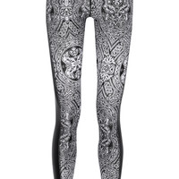 The Upside - Printed stretch-jersey leggings