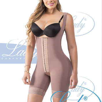"""Cintia"" Open Buttocks Compression Garment by Fajas Lady"