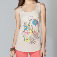 Volcom Anchor Ahoy Womens Tank Off-White  In Sizes
