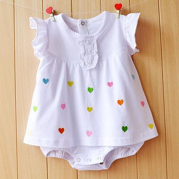 Baby Girl Romper Baby Jumpsuit Baby Clothes Baby Girl Clothes Newborn Infants Clothes Baby Girl Clothing