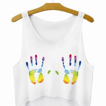 """Teen Wolf"" Letters Crop Top Summer Style Tank Top Women Tops Cheap Clothes China Cropped Fashion Mujer Sport Camisole"