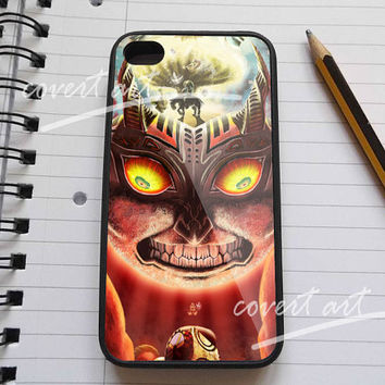 Moon fall majora mask zelda for iPhone 4 / 4S / 5 Case Samsung Galaxy S3 / S4 Case