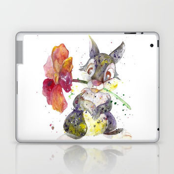 Thumper With Flower Laptop & iPad Skin by MIKART