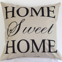 Sweet Home Pillow Cushion