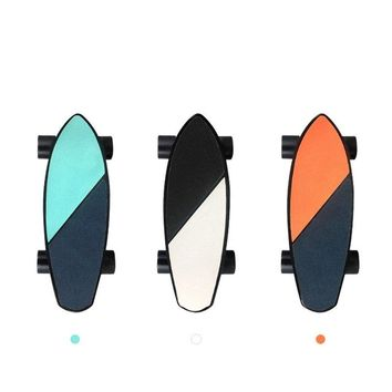 New arrival waterproof mini size dual hub 300W brushless motor boosted electric skateboard hoverboard electric scooter