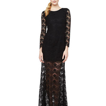 Erin Fetherston Anjelica Lace Overlay Gown