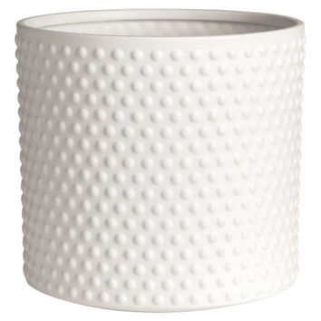 Large Stoneware Plant Pot - from H&M