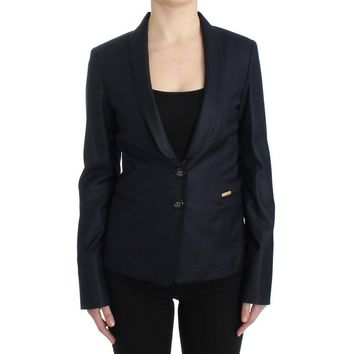 Black Suit Lapel Collar Blazer Jacket