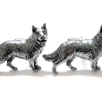 German Shepherd Dog Cufflinks