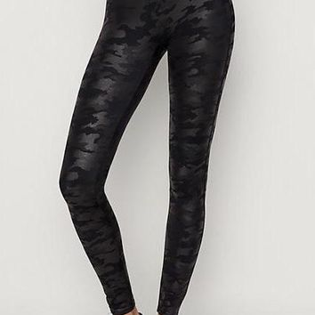 Spanx Camo Leggings - Black