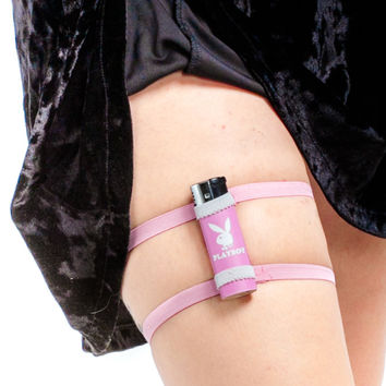 Fight Like A Girl Pepper Spray/Lighter/Lipstick Garter