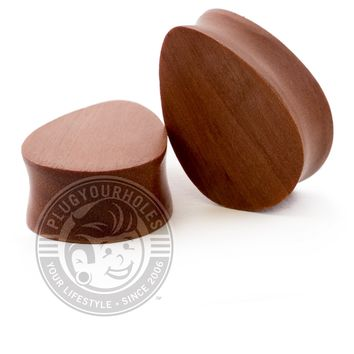 Tear Drop Sawo Wood Plugs
