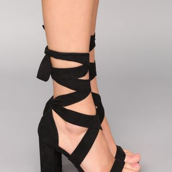 Plot Twist Heel - Black