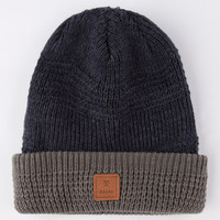 Roark Sherpa Beanie Navy Combo One Size For Men 26125721101