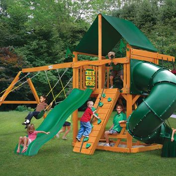 Gorilla Playsets Mountaineer Supreme CG Wooden Swing Set