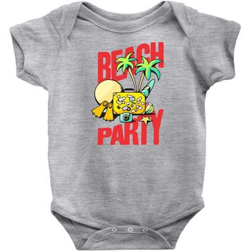 beach party Baby Onesuit