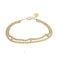 Three Charms Anklet