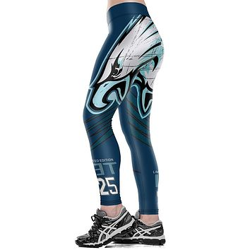 Philadelphia Eagles Logo Fitness Leggings