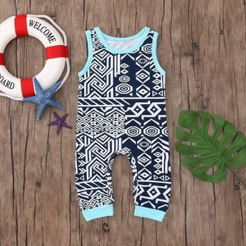 Journey's Aztec Sleeveless Romper
