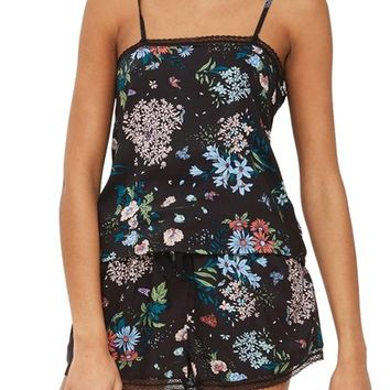 Topshop Montana Floral Pajama Camisole | Nordstrom