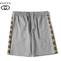 GUCCI New fashion letter string mark shorts women Gray