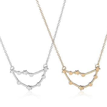 Capricorn Zodiac Signs Constellation Necklaces