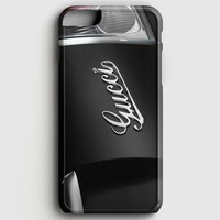 Black Fiat With Gucci Logo iPhone 8 Case