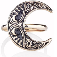 Blood Moon Ring Gold – Shop Dixi