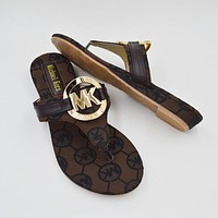 MK Michael Kors Women Fashion Sandal Slipper Shoes