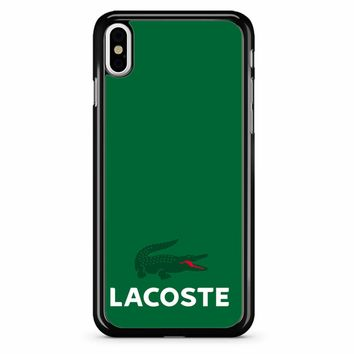 Lacoste 3 iPhone X Case