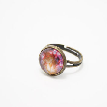 Galaxy Ring, Universe Ring, Space Jewelry, Galaxy Jewelry, Outer Space Jewelry, Universe Ring, Planetarium Jewelry, Planet Jewelry