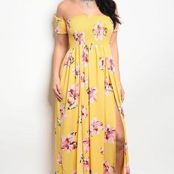 Sandy Sunshine Maxi Dress
