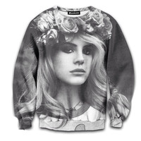 Lana Del Rey - All Around Crewneck from Memoric Apparel
