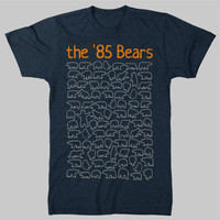 Unique 85 Chicago Bears TShirt by chitownclothing on Etsy