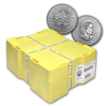 2019 Canada 500-Coin Silver Maple Leaf Monster Box (Sealed)