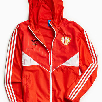 adidas Manchester United Windbreaker Jacket - Urban Outfitters