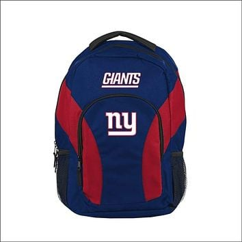 """NY Giants OFFICIAL National Football League, """"""""Draft Day"""""""" 18""""""""H x 10"""""""" (12"""""""" Back) Backpack  by The Northwest Company"""