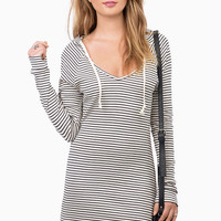 Hoodie Up Dress