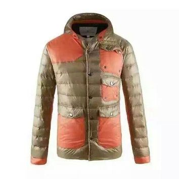 Moncler Down Jacket jacket new discount/ Brown DCCK